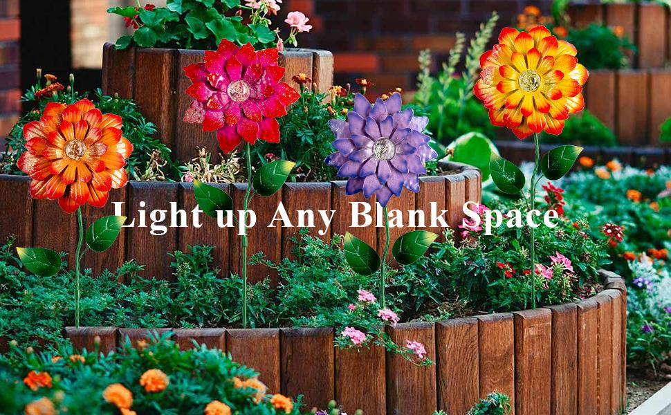decorative garden stakes
