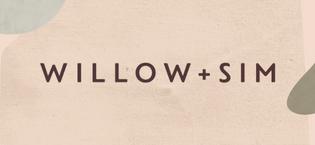 Willow + Sim Brand Story Logo