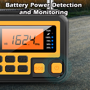 battery weather radio