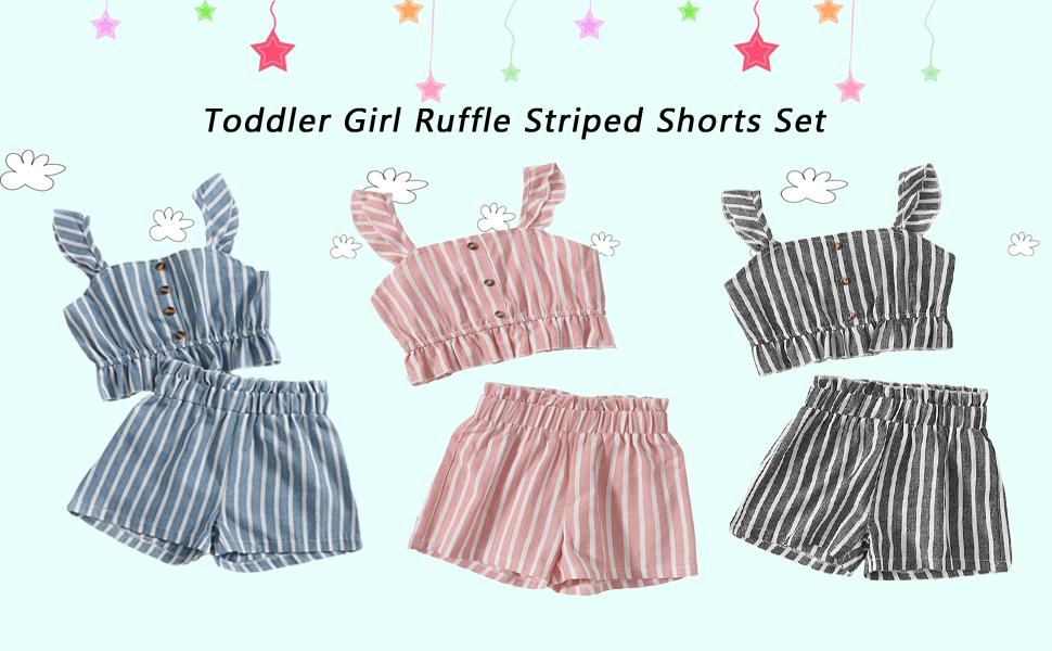 Toddler baby girl summer clothes