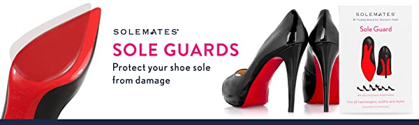 Solemates Sole Guard Protect the Paint on the bottom of shoes