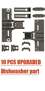 10 PCS UPGRADED Dishwasher part