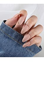 false nails tip coffin acrylic