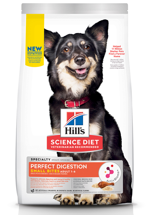 Adult 1-6, Small Bites, Perfect Digestion, Dry Dog Food