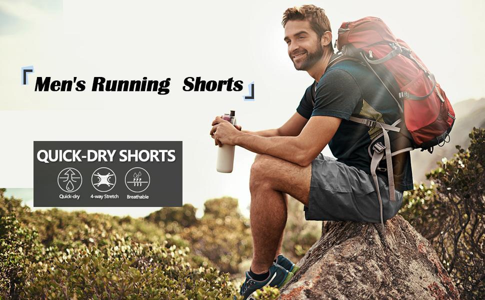 LEPOAR Mens running shorts