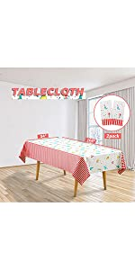 Circus Tablecloths 2 Pack B08TBGMGMD