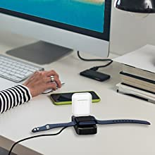 Charger Stand for Apple Watch and Airpods