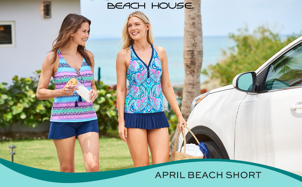 April Beach Short Lifestyle
