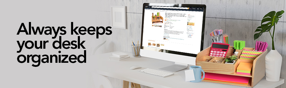 Keeps your desk organized