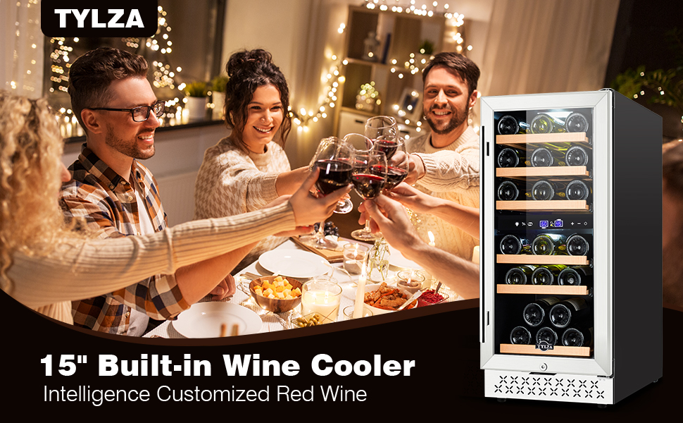 Freestanding Wine Cooler Mini Wine Fridge