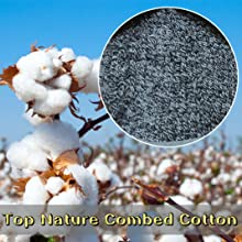 top nature combed cotton