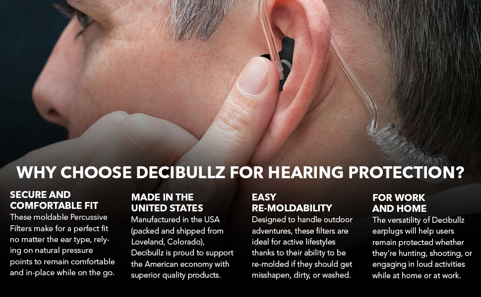 Why Choose Decubullz for hearing protection?