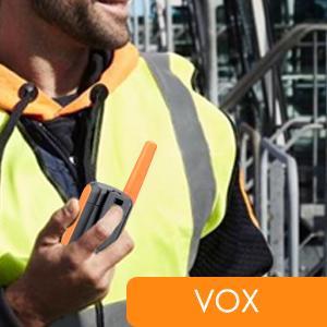 vox Walkie-talkie free hand