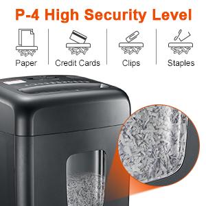 high security shredder