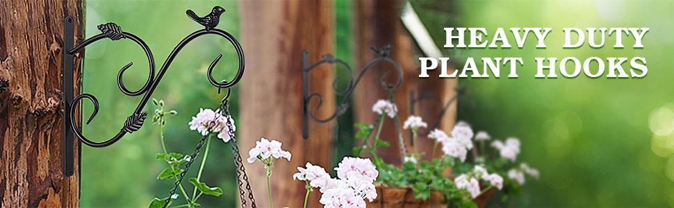 hooks for hanging plants hanging basket hooks hanging plant bracket