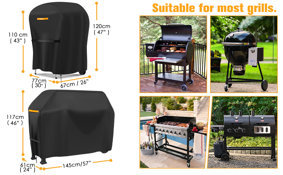 medium bbq cover barbecue cover bbq cover small heavy duty waterproof bbq cover 57cm bbq cover