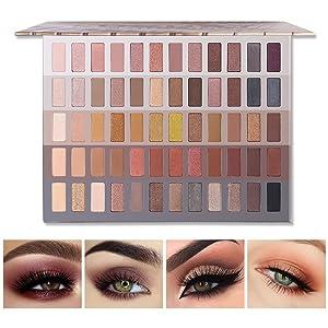 shimmer matte eyeshadow