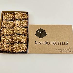 Truffle inspired English Toffee Sticks