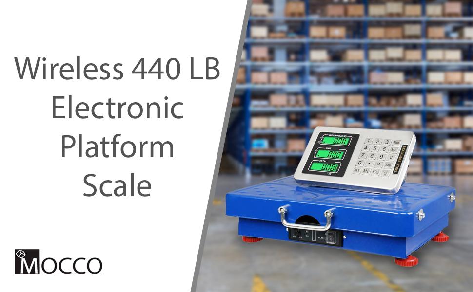 Wireless 440LB 200KG Digital Scale