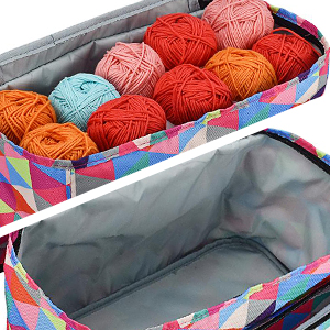 grande capacité sac tricot rangement pelote de laine
