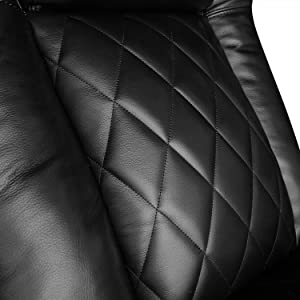 Diamond Quilted Stiching