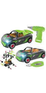 take apart car