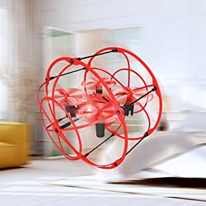 High and Low Speed Modes of RC toy drone