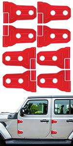 for jeep wrangler door hinge cover