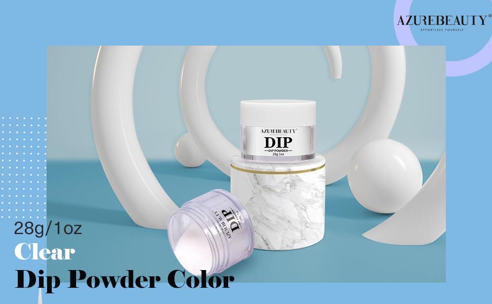 Dip Powder Clear Color(1oz)