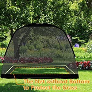 golf net without bottom