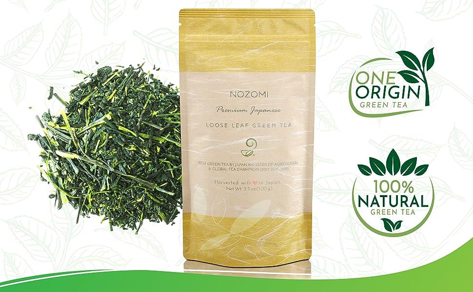 Nozomi Tea - Loose Leaf Green Tea