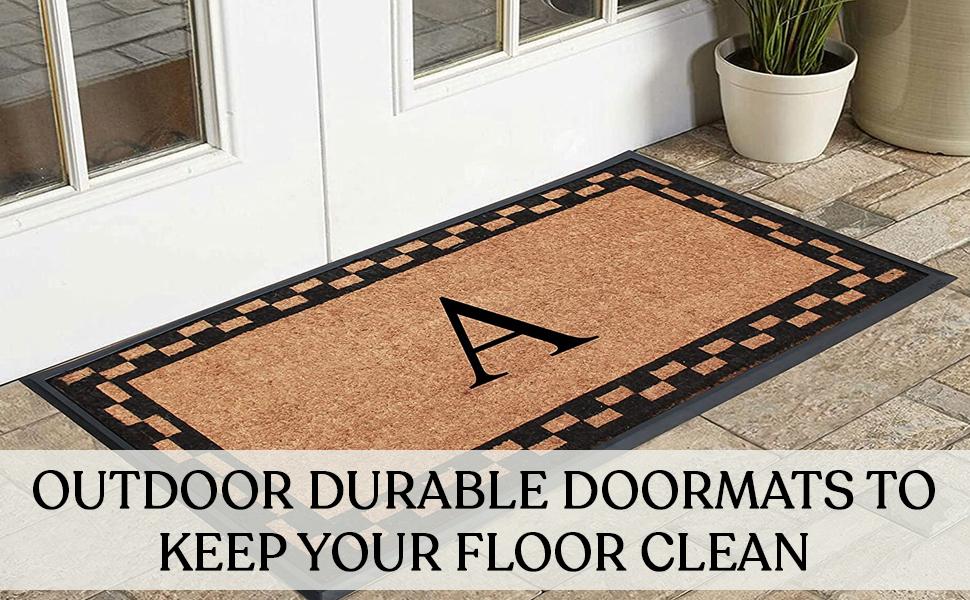 doormat with holes doormat heavy duty cute doormat black rubber scroll doormat 24 x 36 doormat
