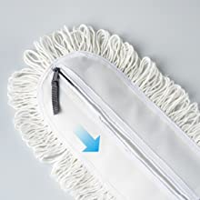 Cotton Yarn Pad Installation 2