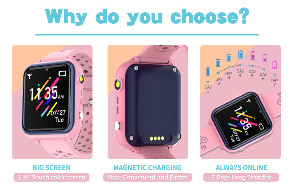Why do you choose the kids smartwatch?