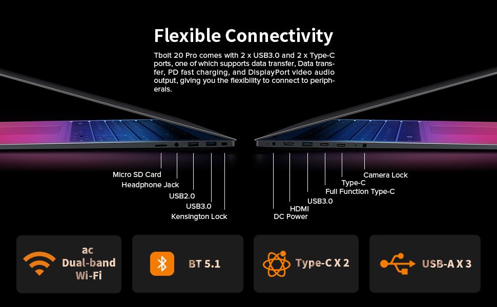 Tbolt 20 Pro 15.6 laptop20 Pro i5 15.6 inch laptop