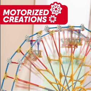 image spining wheel/motion; motor icon overlay