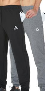 Menamp;amp;amp;#39;s Joggers Pants Zipper Pockets