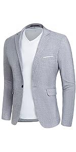 Men's Casual Linen Suit