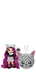 Na Na Na Surprise Mannequin 2-en-1 Série Glam Chrissy Diamond