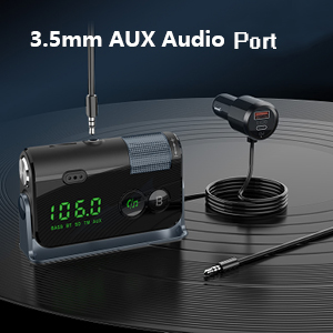 radio frequency aux car charger