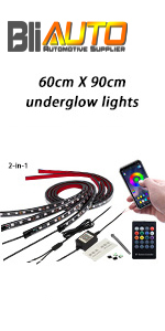 Car Underglow Lights with APP Control