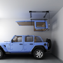 Hardtop Overhead Garage Storage