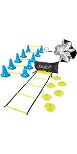 agility blue cones