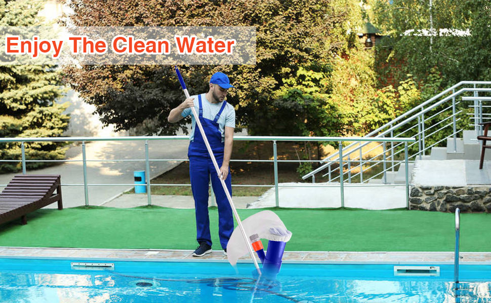 Enjoy clean water
