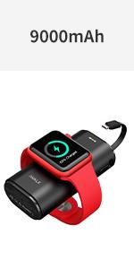 モバイルバッテリー apple watch