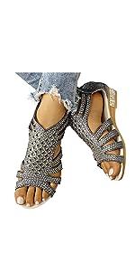 Womenamp;#39;s 2021 Sandal Shoes Platform Comfy Summer Beach Flat Slipper Flip Flops