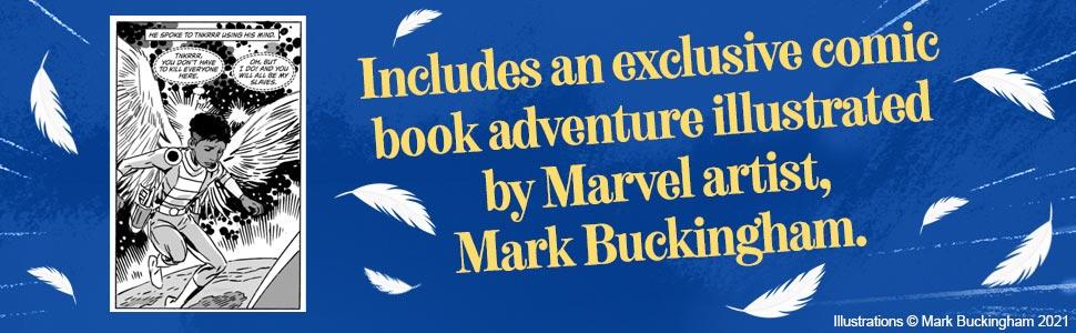 The Boy With Wings, Lenny Henry, Mark Buckingham, Keenon Ferrel, Macmillan Children's Books