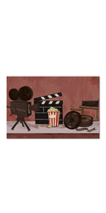 RyounoArt Home Theater Canvas Wall Art