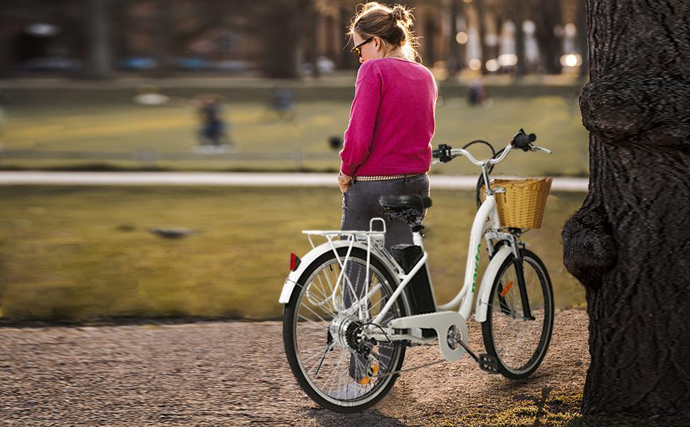 electric womens bike