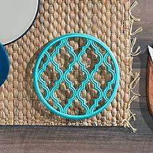cork hot pad, trivets for hot pots, stove trivet, large trivet, horseshoe trivet